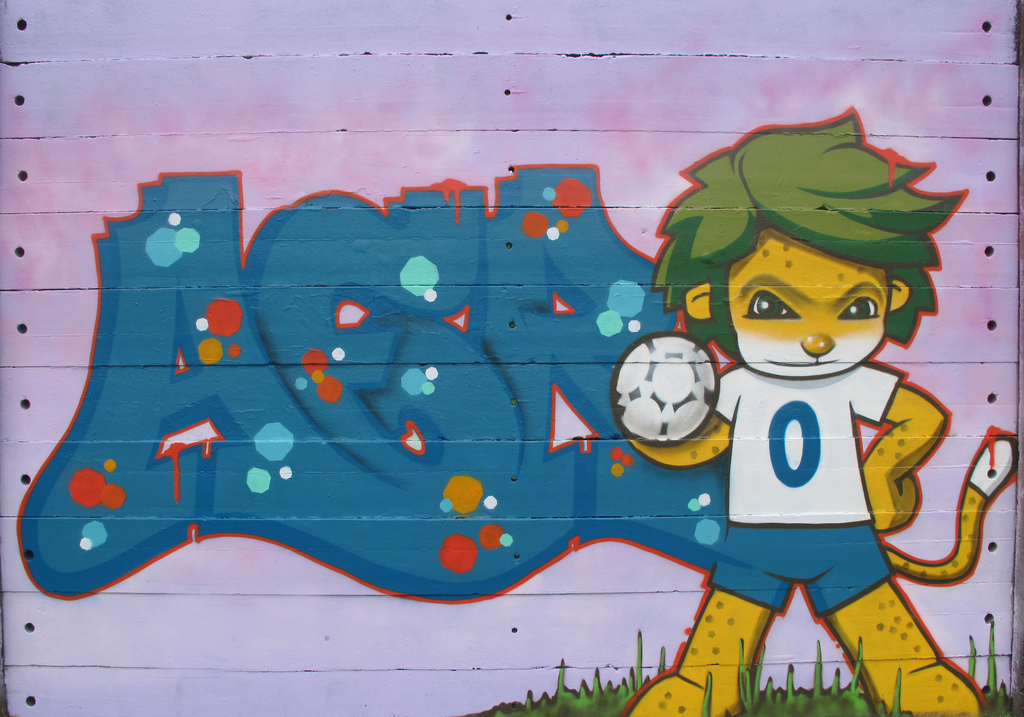 World Cup Fever Zakumi