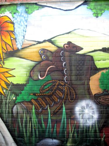 Southwark Park Estate Mural