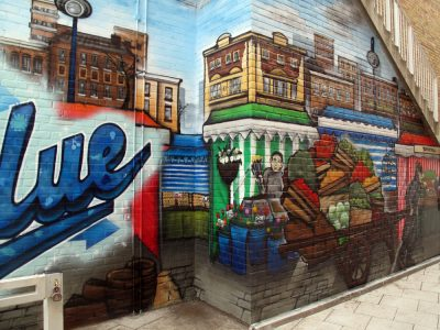 aeroarts graffiti mural workhop