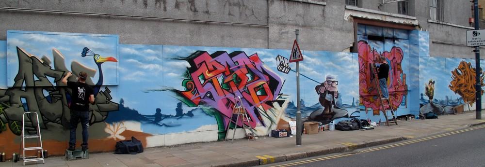 aero churchroad graffiti artist