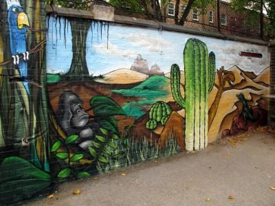 london graffiti mural workshop