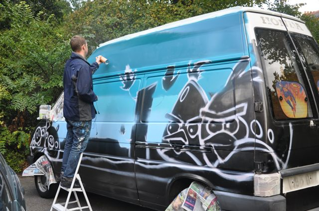 aero london graffiti artist