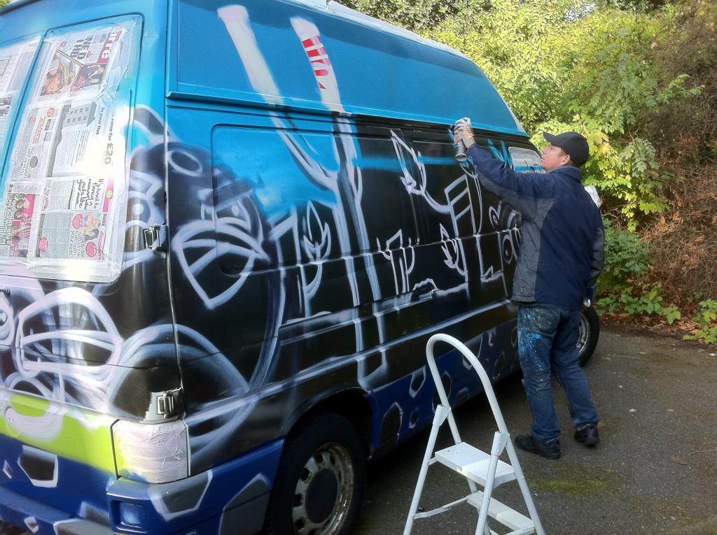 aero london graffiti artist