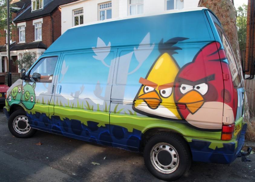 Angry Birds Van