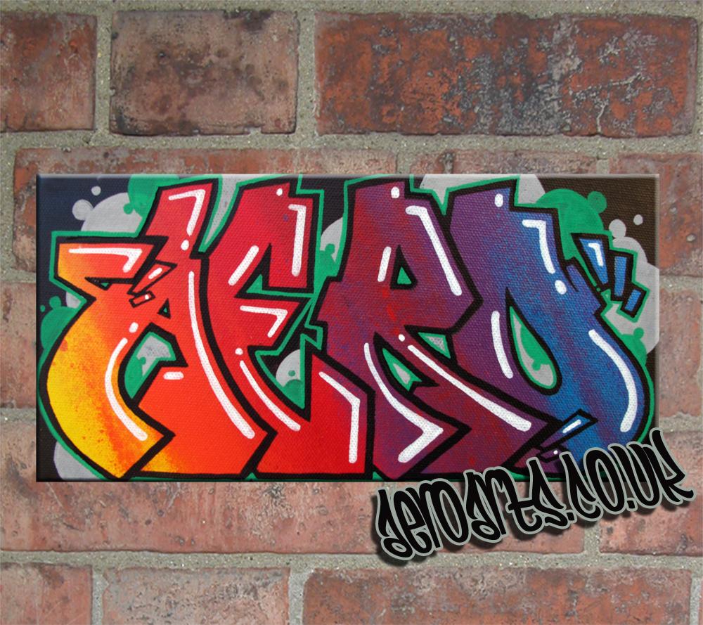 aero graffiti canvas