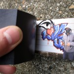 graffiti flick book