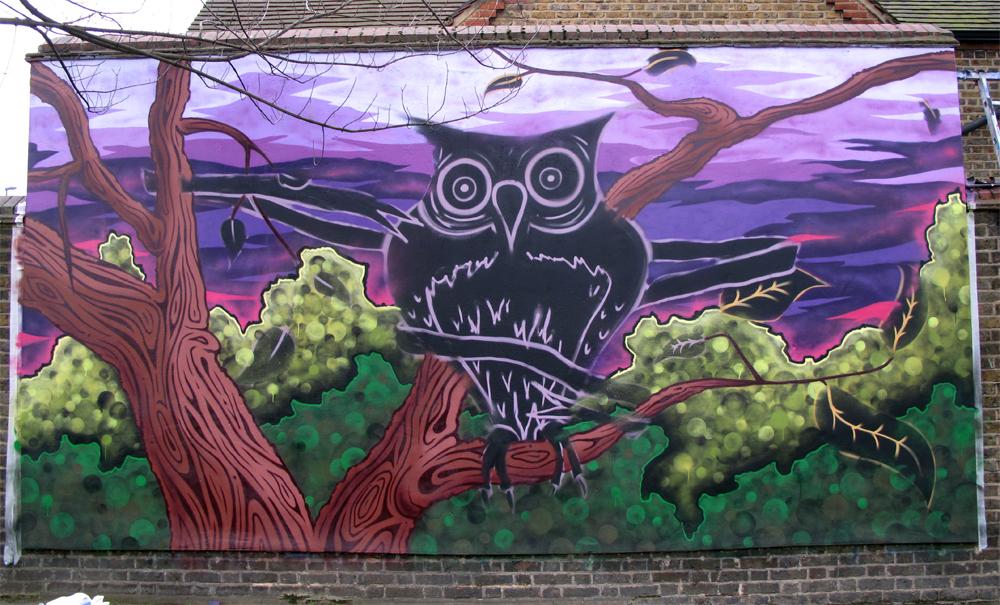 Haseltine school mural