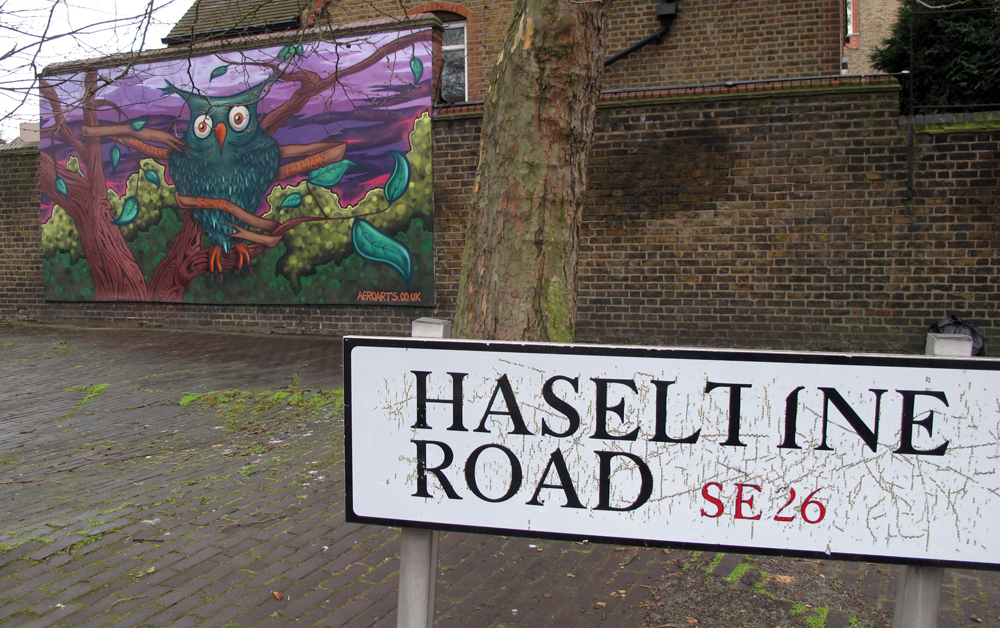 Haseltine Primary School Mural