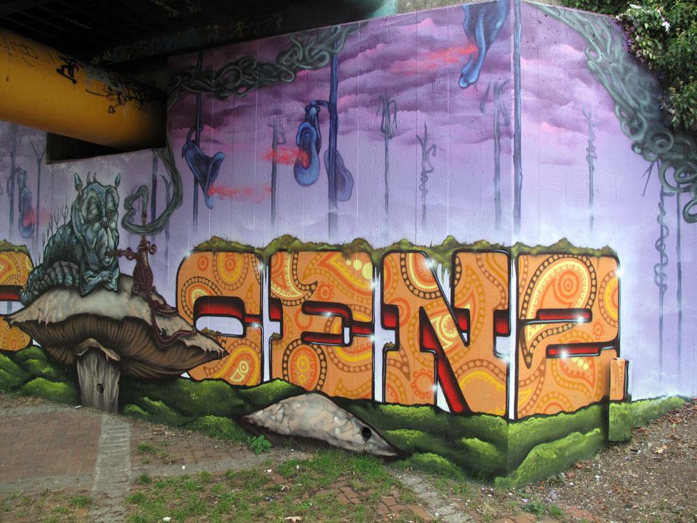 cenz london graffiti artist
