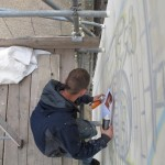 positive arts London Graffiti Mural Artist