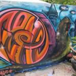 Cenz London Graffiti Mural Artist