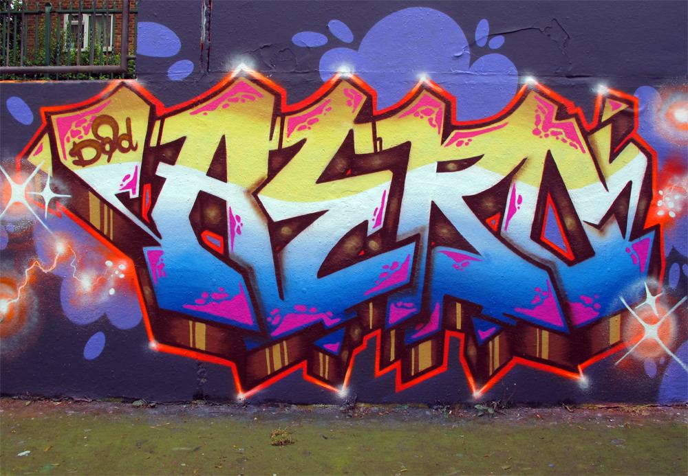 Graffiti aero pieces london graffiti mural artist for Graffiti mural