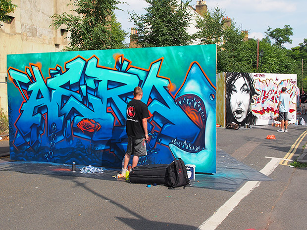 Aero at Urban Art Brixton 2013