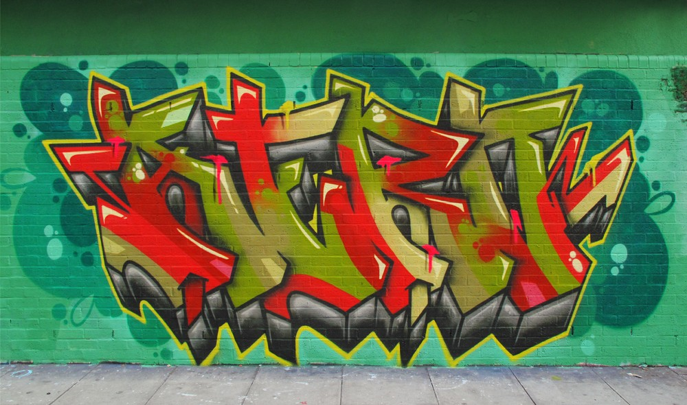Shoreditch graffiti aero cenz tizer