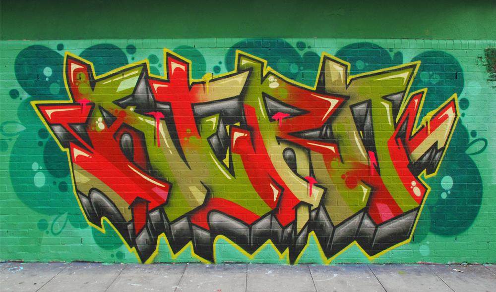 Shoreditch graffiti aero cenz tizer