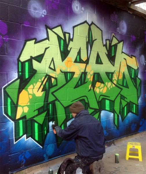 Aero painting walls