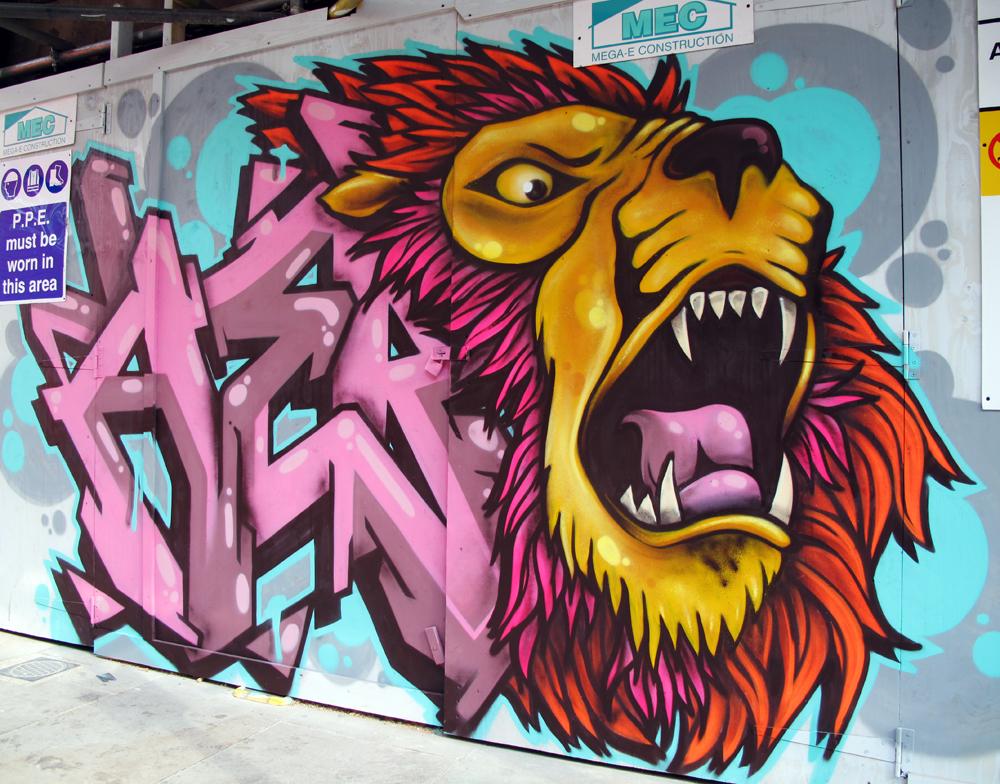 BrickLane Graffiti aero and cenz