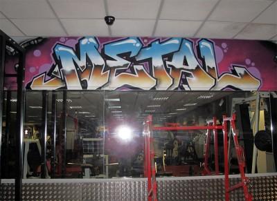 metroflex graffiti gym
