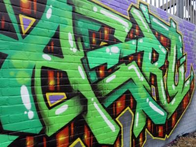 Aero London Graffiti Mural Artist