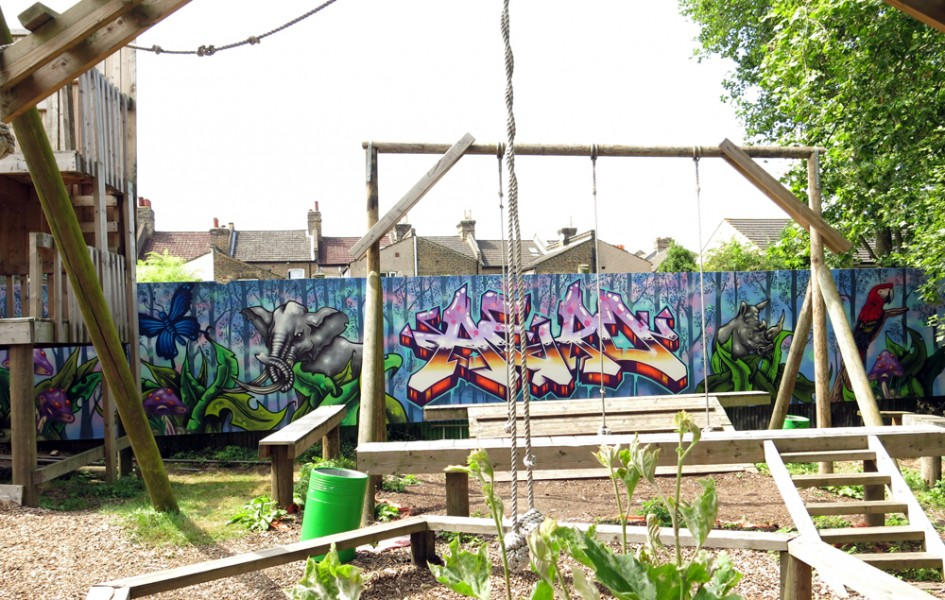 HomePark Adventure Playground Mural
