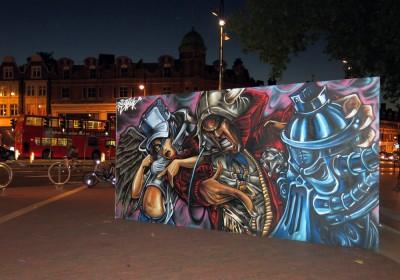 aeroarts animalgraff graffiti mural artist