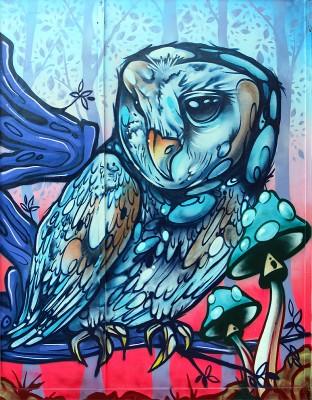 aero animalgraff graffiti mural