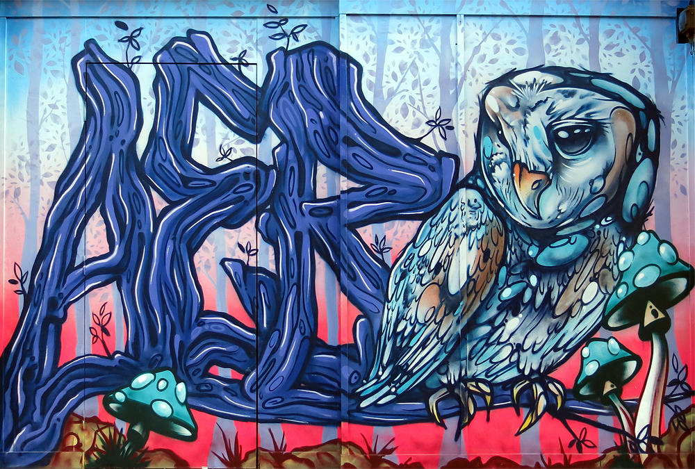 Aero Paints Croydon's Arts Quarter