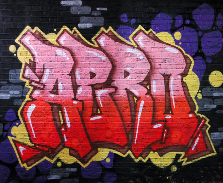 East London graffiti Painting