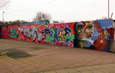 brixton graffiti jam tizer aero cenz