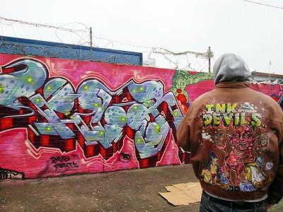 brixton graffiti tizer