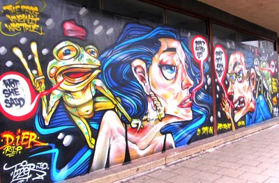 croydon graffiti tizer