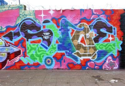 brixton graffiti snoe