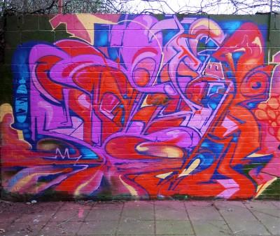 brixton graffiti solo
