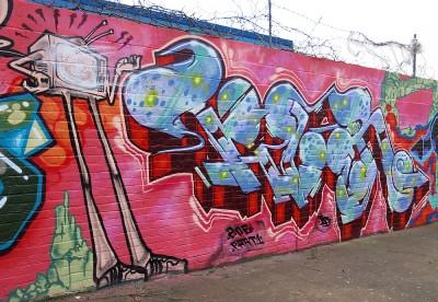 brixton tizer graffiti