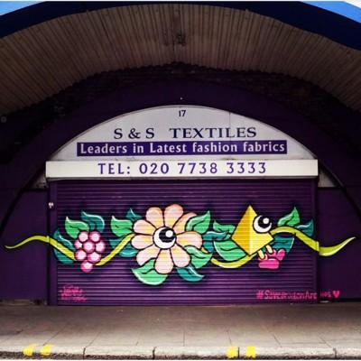 brixton arches graffiti