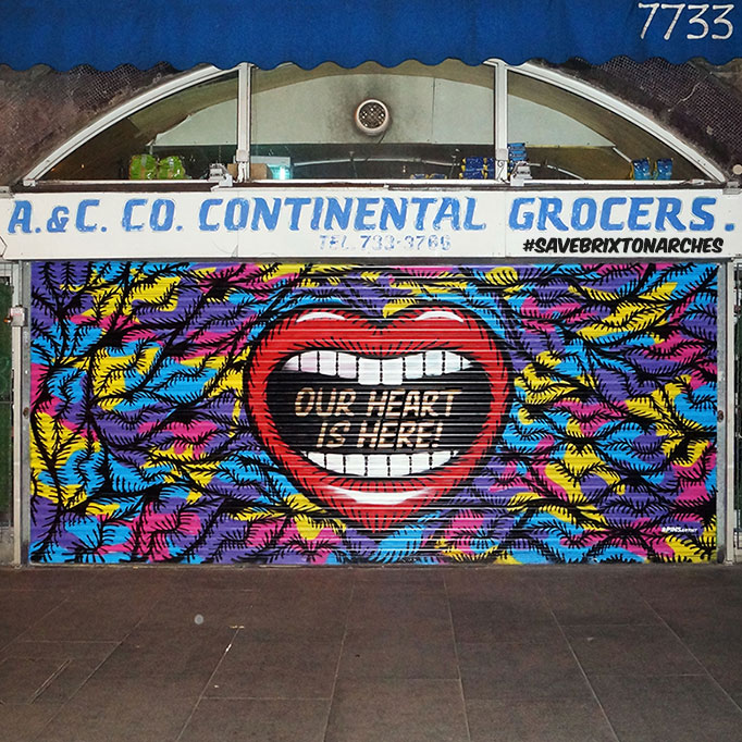 Save Brixton Arches Campaign