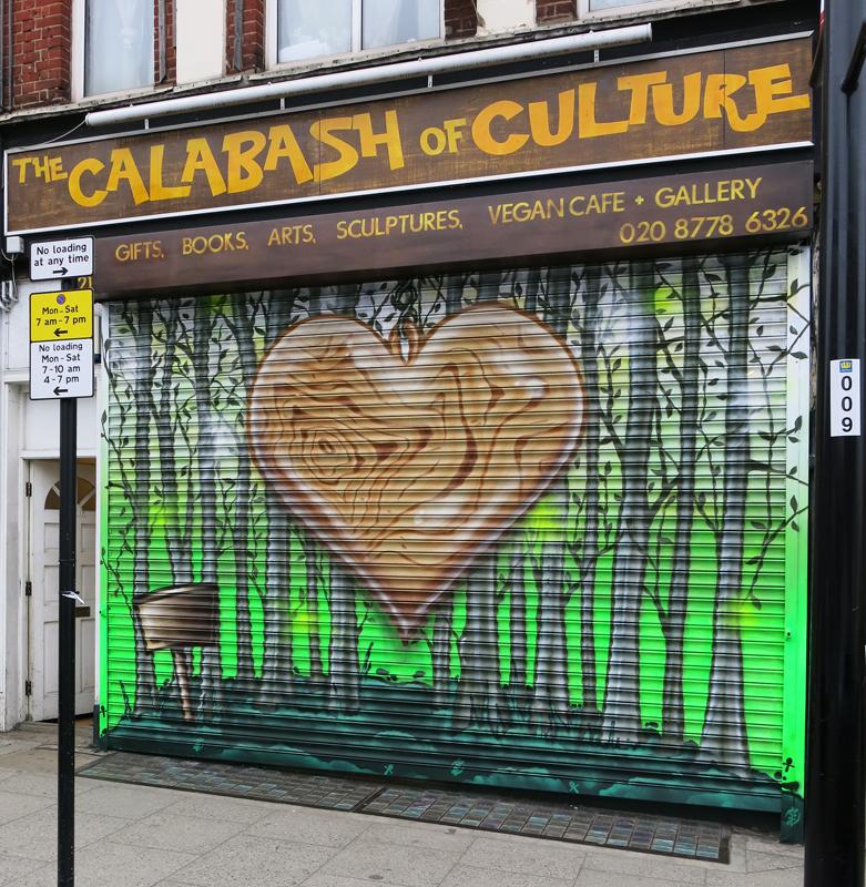 Calabash Culture graffiti shutter