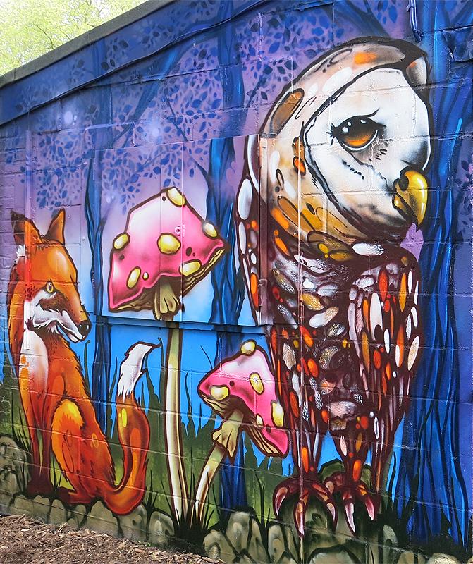 Sydenham Adventure Playground By Aero London Graffiti Artist
