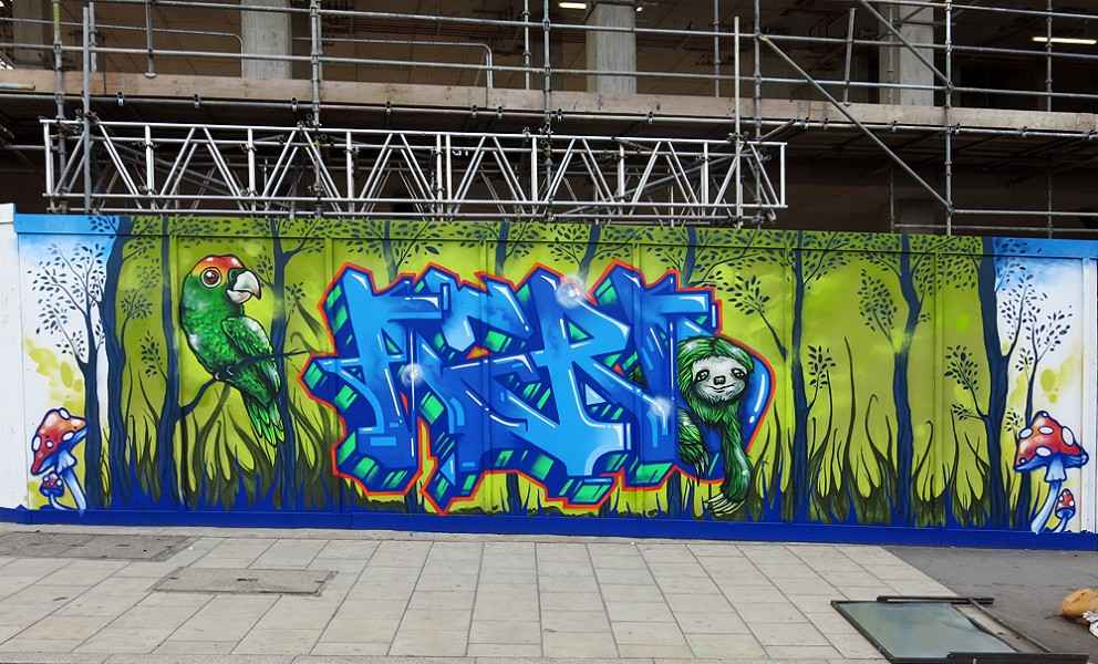 Old Oak Lane Graffiti Paint Jam