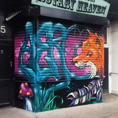 AeroArts graffiti mural artist