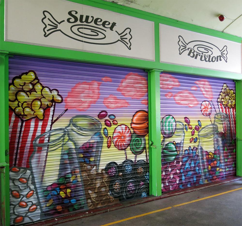 Brixton Graffiti Shutters