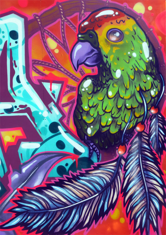 animalgraff – AeroArts London graffiti mural artist ...