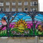 graffiti hoardings mural