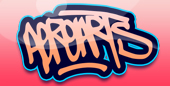 AeroArts London graffiti mural artist - community workshops Logo