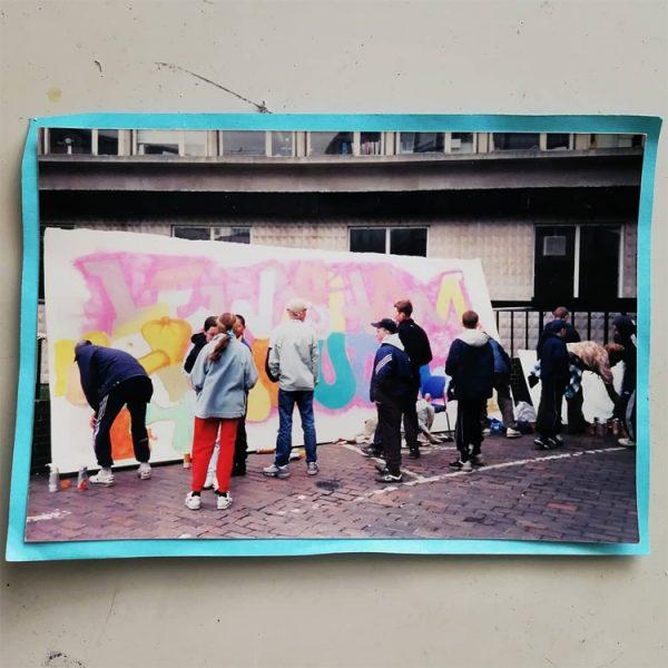 1999 graffiti youth workshop