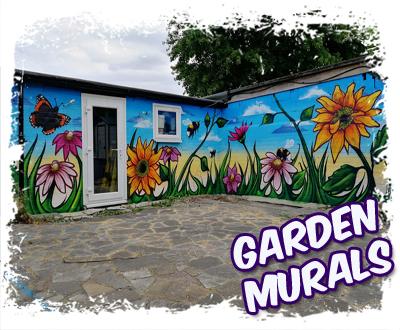 Garden Graffiti Murals