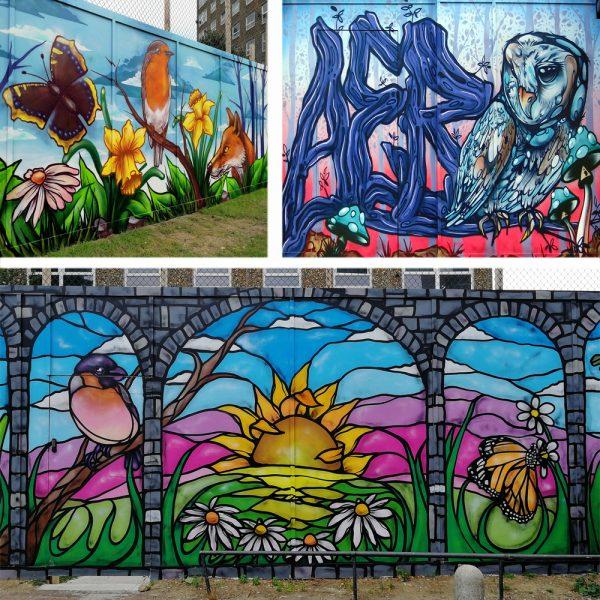 graffiti community mural artist
