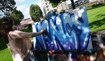 graffiti youth workshop