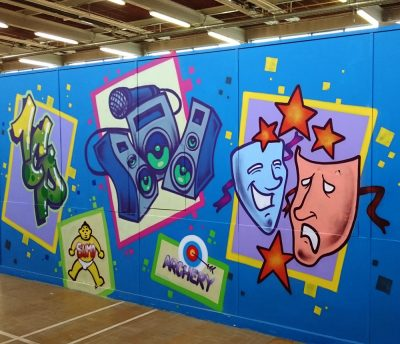 graffiti mural workshop
