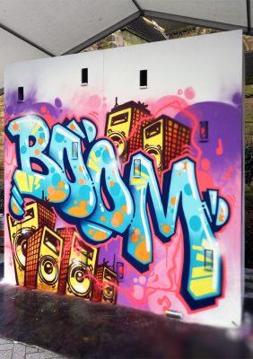 graffiti mural event